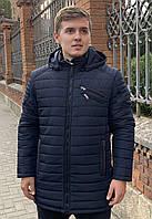 Зимняя длинная мужская куртка classic (46-58)