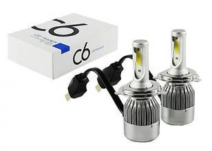 Комплект LED ламп C6 H4 ксенон