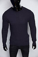 Свитер мужской Figo 6757-1 темно синий