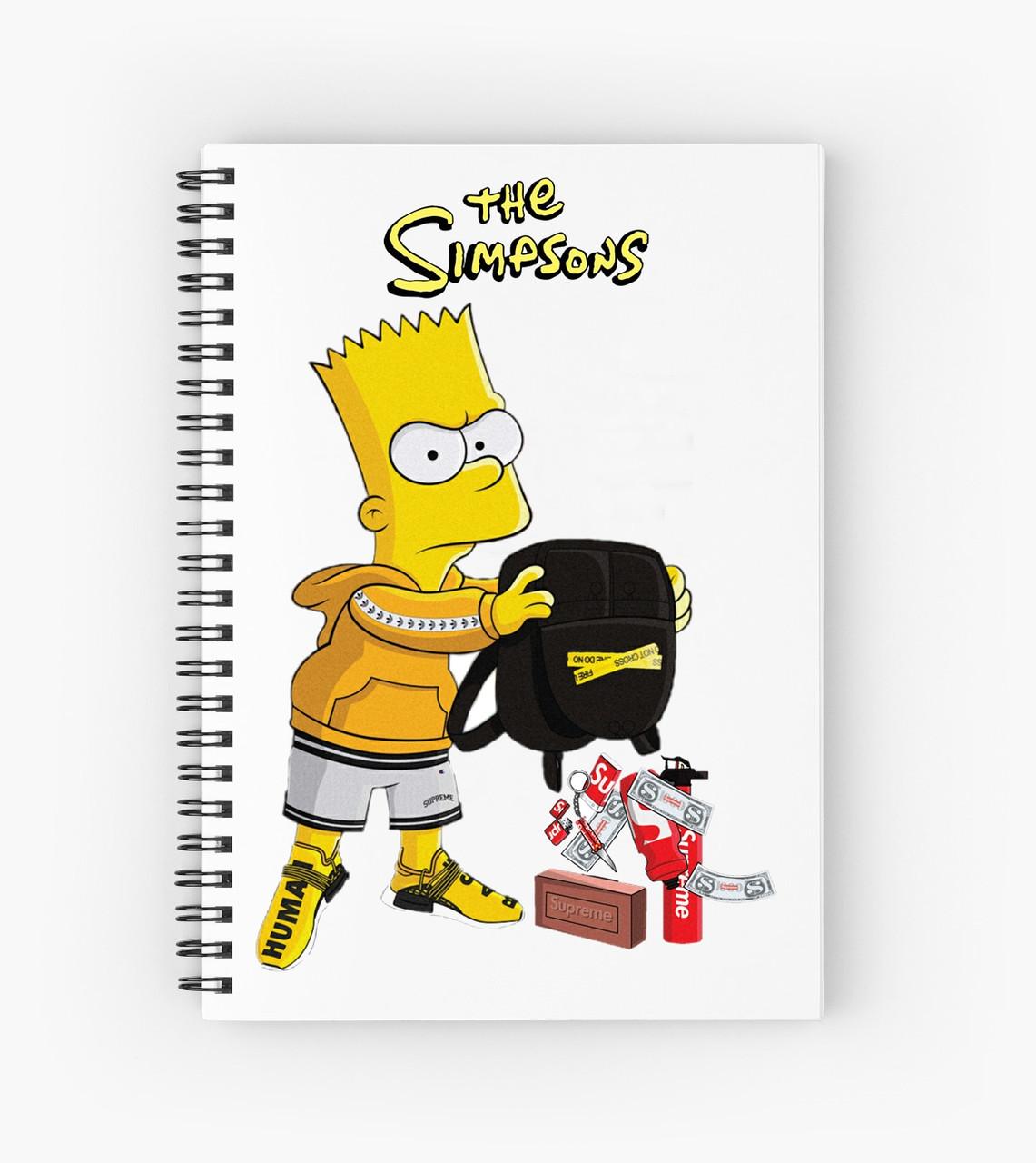 Блокнот Simpsons 1