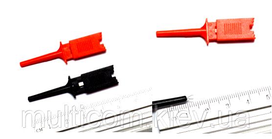 17-00-003. Щуп-зажим типа крючок прямоугольный, 50 мм