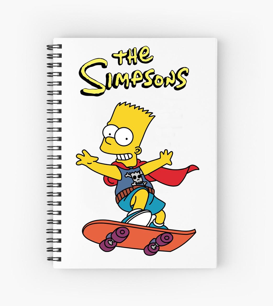 Блокнот Simpsons 2