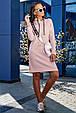 Стильное женское платье 1219.3682 персик (S-L), фото 2