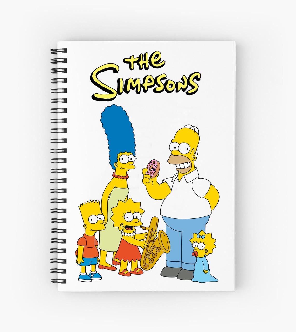 Блокнот Simpsons 4