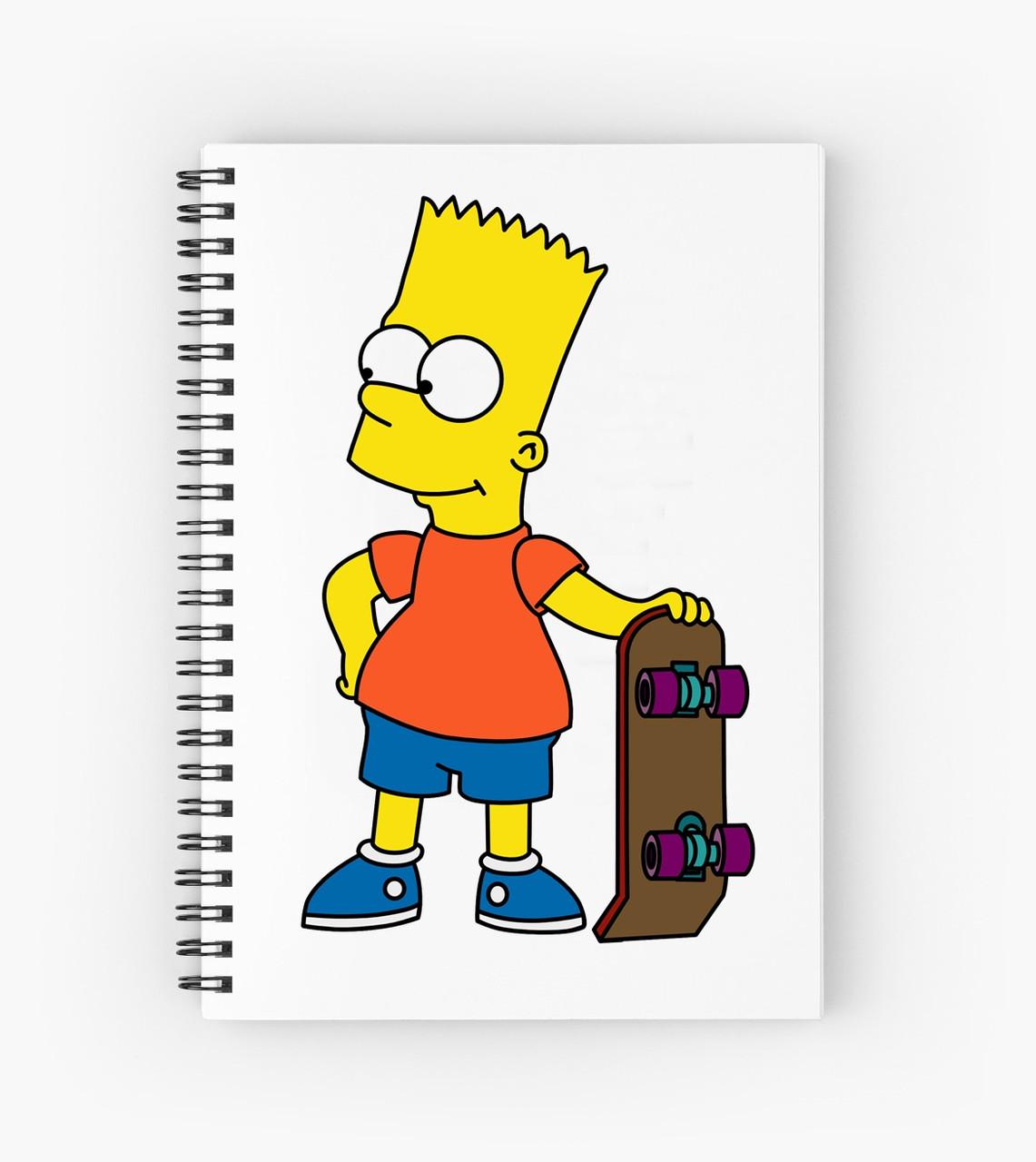 Блокнот Simpsons 5