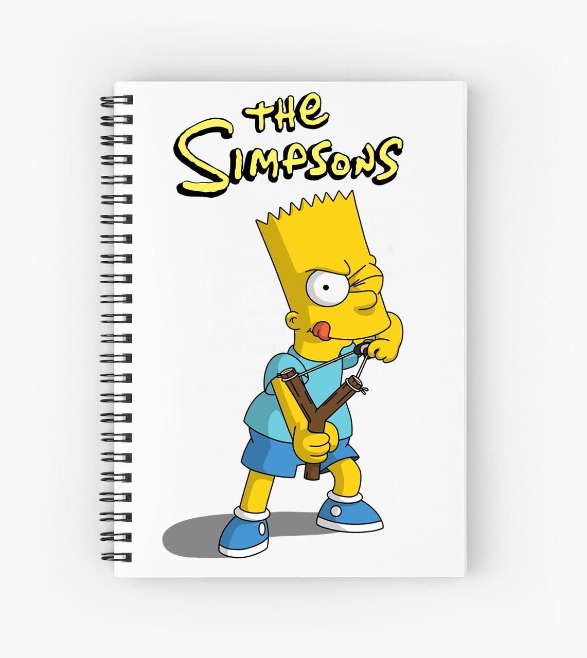 Блокнот Simpsons 7