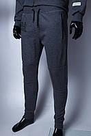 Спортивные штаны мужские трикотажные манжет GS 294742_1 темно-серые