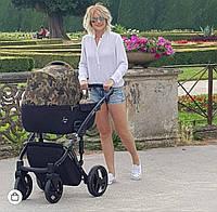 Дитяча коляска 2в1 Junama Fashion Pro Army, фото 1
