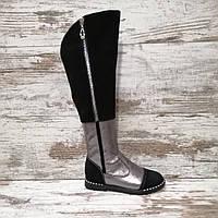 Зимняя обувь детская и подростковая обувь ( Ботфорты )