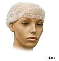 Косметологічна шапка для волосся «Шарлотта» Lady Victory (100 шт. в упаковці рожева) LDV CH-03