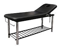 Массажный стол модель 219 черный цвет