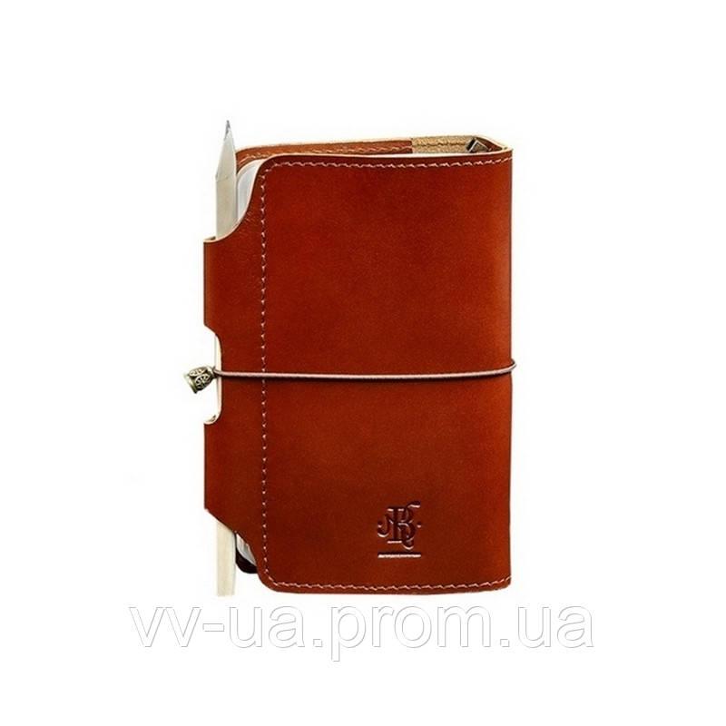 Кожаный блокнот BlankNote Софт-бук 3.0 Коньяк, коричневый (BN-SB-3-mi-k)