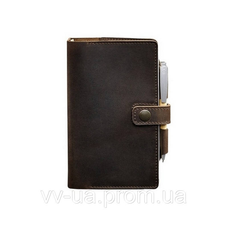 Кожаный блокнот BlankNote Софт-бук 4.0 Орех, коричневый (BN-SB-4-st-o)