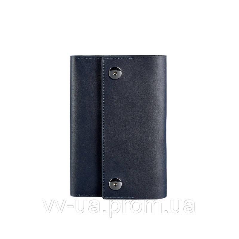 Кожаный блокнот BlankNote Софт-бук 5.0 темно-синий (BN-SB-5-navy-blue)