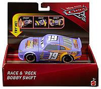 Машинка Тачки3  Бобби Свифт Опасное столкновение Disney Pixar Cars3 Race & 'Reck Bobby Swift