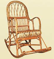 """Кресло-качалка """"КК-6"""". Плетеная мебель из лозы"""