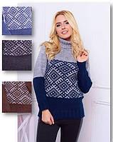 Очень теплый женский свитер, фото 1