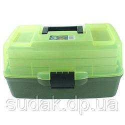 Ящик Aquatech 1703 3х-полочный 1703Т прозрачная крышка