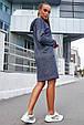 Удобное женское платье 1219.3681 синий (S-L), фото 4