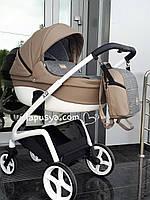 Дитяча  коляска 2 в 1 Riko XD 02 Cappuccino