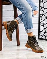 """Зимние ботинки в стиле """"унисекс"""". Размер 39"""