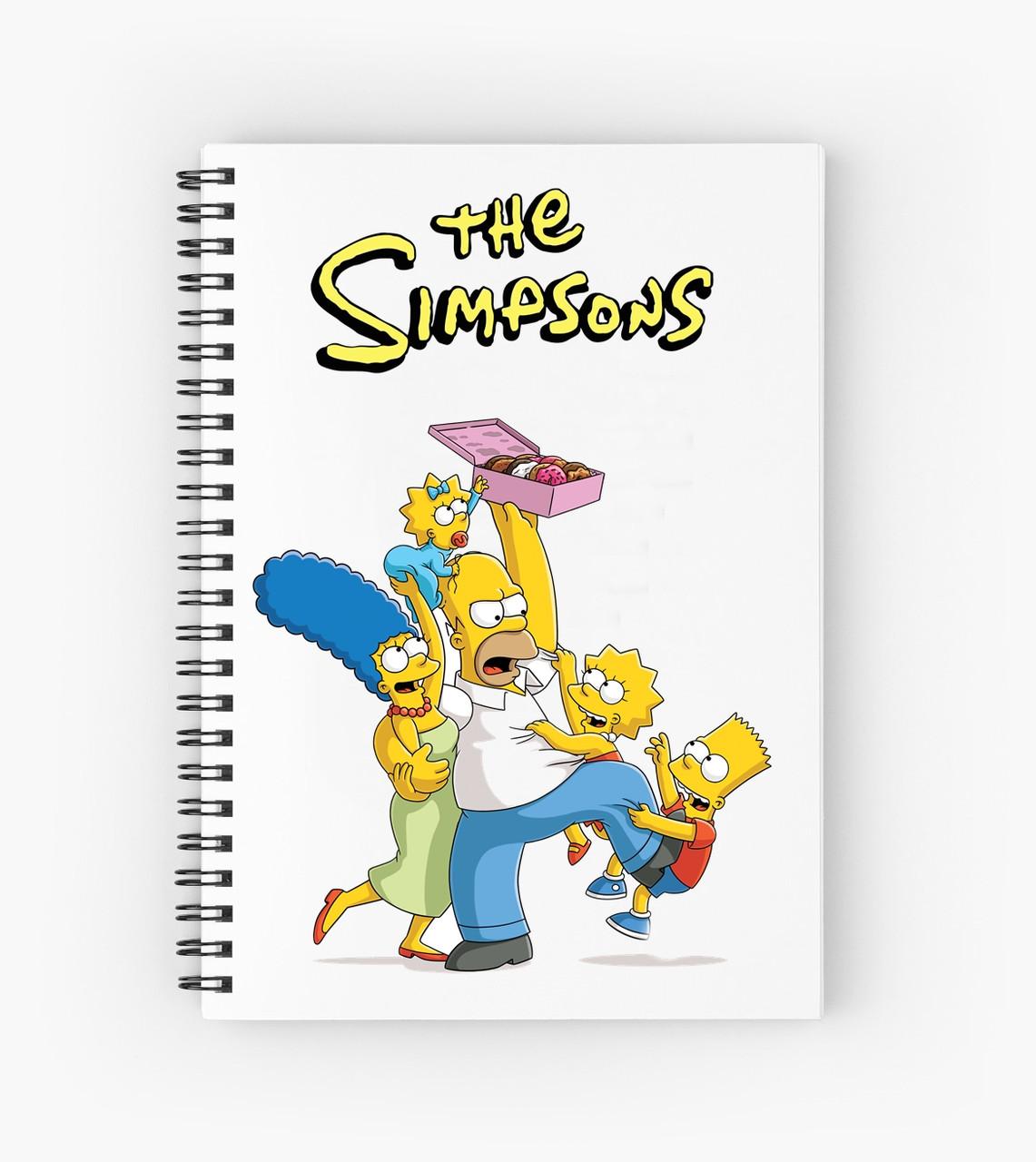 Блокнот Simpsons 10