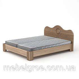 Двуспальная кровать 170 МДФ тм Компанит
