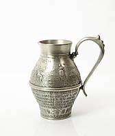 Кувшин коллекционный, оловянный, олово, Германия 400мл, фото 1