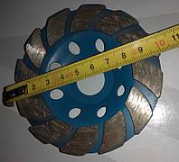 Диск алмазный турбо d100 мм по бетону