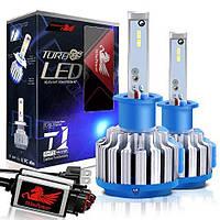 Светодиодные лампы для автомобиля Led Xenon Ксенон T1-H4 (пара), фото 1