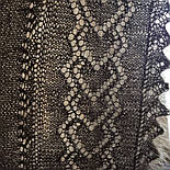 Платок Ш-00006, серый, оренбургский платок (шаль), фото 5