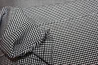 Ткань костюмная, не сильный стрейч, натуральная  №804  гусиная лапка средняя, фото 1