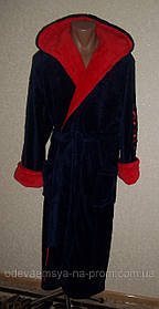 Махровый халат для подростка 6-14 лет