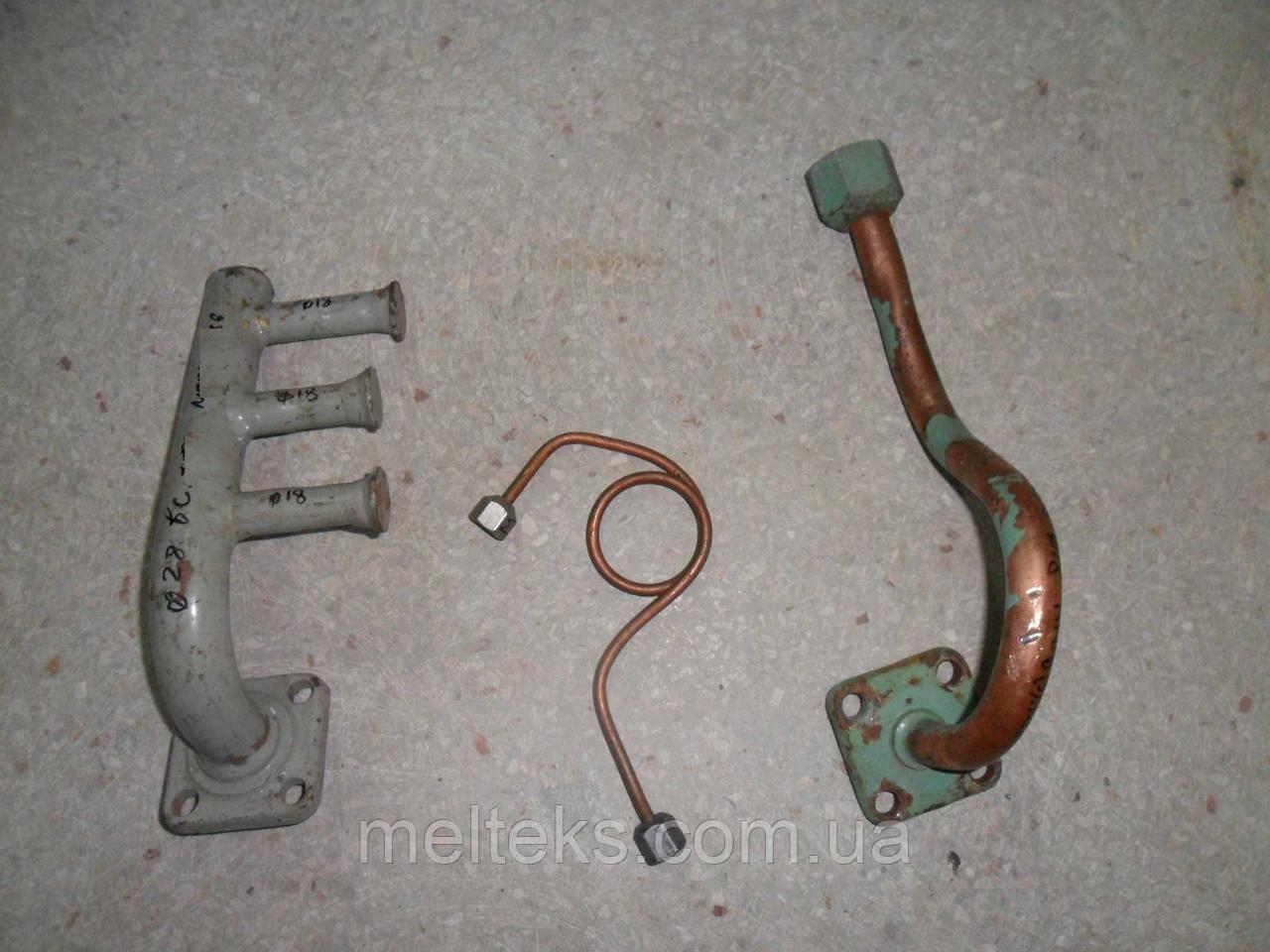 Гайки с трубками для вентилей ИФ-56, МВВ 4, МКВ 4