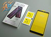 Защитное стекло 5D для Xiaomi Redmi Note 5 черное