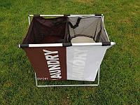 Корзина складная (органайзер) для белья, одежды и игрушек 61х35х57см Stenson (R82579)