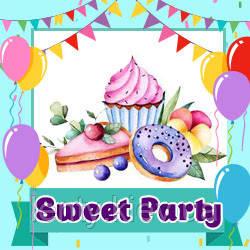 Sweet Party - пончики, кексы, леденцы (Товары для праздника)