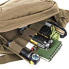 Сумка на пояс Helikon BANDICOOT Waist Pack Cordura (TB-BDC-CD-04) PL Woodland, фото 4