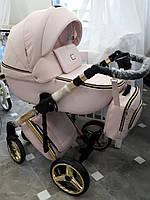 Дитяча універсальна коляска 2 в 1 Adamex Luciano Polar Gold Y813