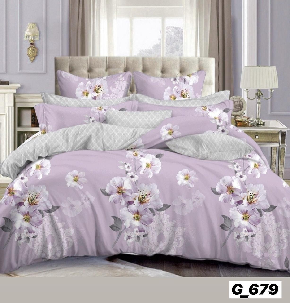 Красивое постельное бельё из пакистанской бязи (2-х сп)