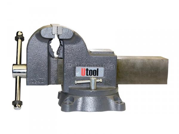 Слесарные тиски Мастерская Utool 100 мм (U17100)