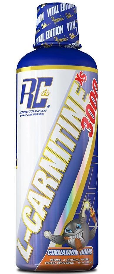 Схуднення жидкій, Ronnie Coleman, L-Carnitine 3000 mg, 473ml