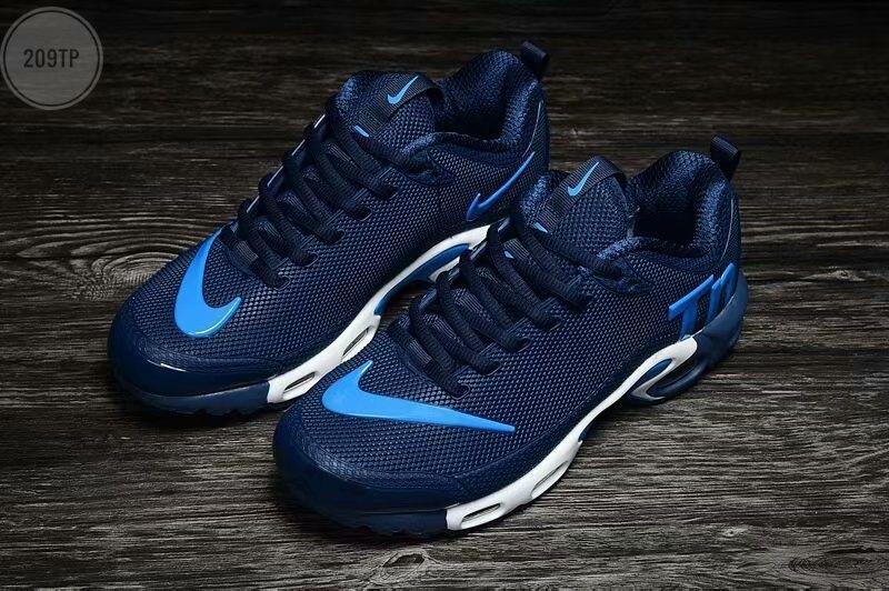 Чоловічі кросівки Nike TN Air Blue Kauchuk
