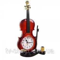 Годинники настільні Скрипка