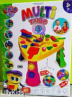 Набор для творчества Danko Toys MTB-01-01 multi table, мульти-столик с тестом,кинетическим песком, слаймом