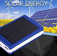 Power bank портативный аккумулятор на солнечной батарее Павербанк, фото 6