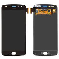 Дисплей Motorola XT1710 Moto Z2 Play, черный, с сенсорным экраном, Сopy