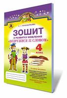 Подружися зі словом, 4 кл., Зошит з розвитку мовлення Автори: Пономарьова К. І.