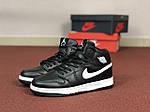 Жіночі кросівки Nike Air Jordan 1 Retro (чорно-білі), фото 3