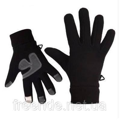 Зимние флисовые сенсорные перчатки